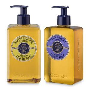 L' Occitane Liquid Soap Duo