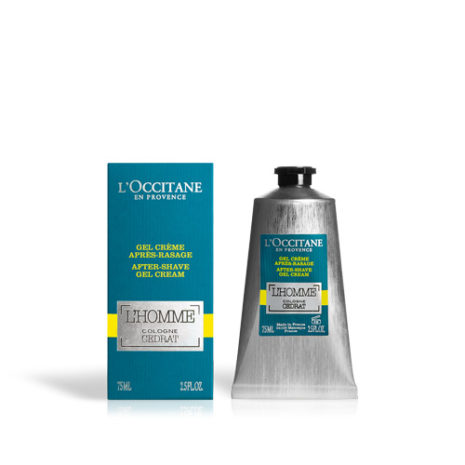 L'Occtaine L'Homme Cologne Cedrat After Shave Gel Cream 75ml