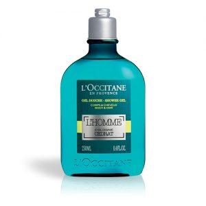 l'octaine l'homme cedrat shower gel 250ml