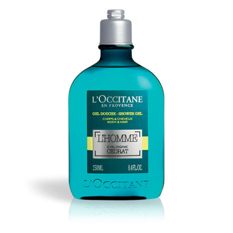 l'octaine l'homme cedrat shower gel 250ml